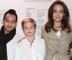 Angelina, Maddox and Shiloh Attend Event Honoring Victims of Cambodian Genocide