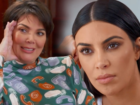 Kris Jenner Struggles to Be Proud of Kim Kardashian's Sex Tape