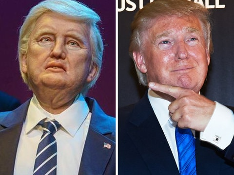 Twitter LOLs at Animatronic Donald Trump in Disney World