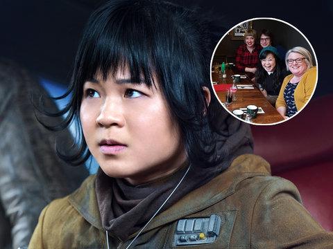 'Star Wars: The Last Jedi' Star Kelly Marie Tran Crashes Fan Conversation at Pub