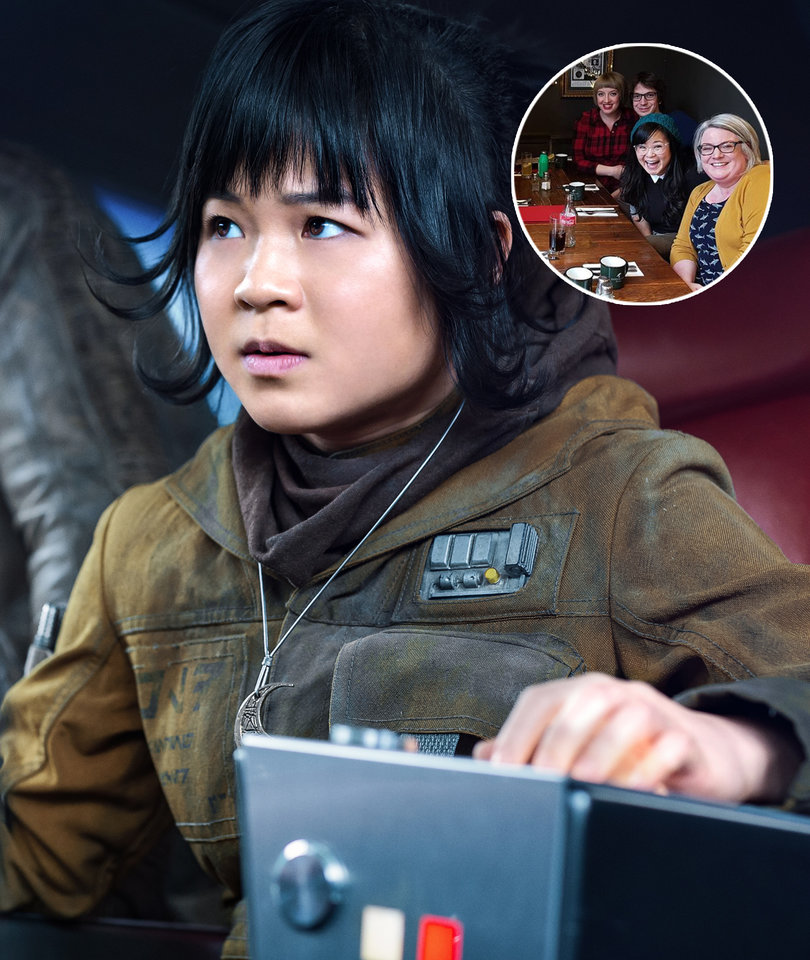 'Star Wars: The Last Jedi' Star Kelly Marie Tran Crashes Fan Conversation at Pub