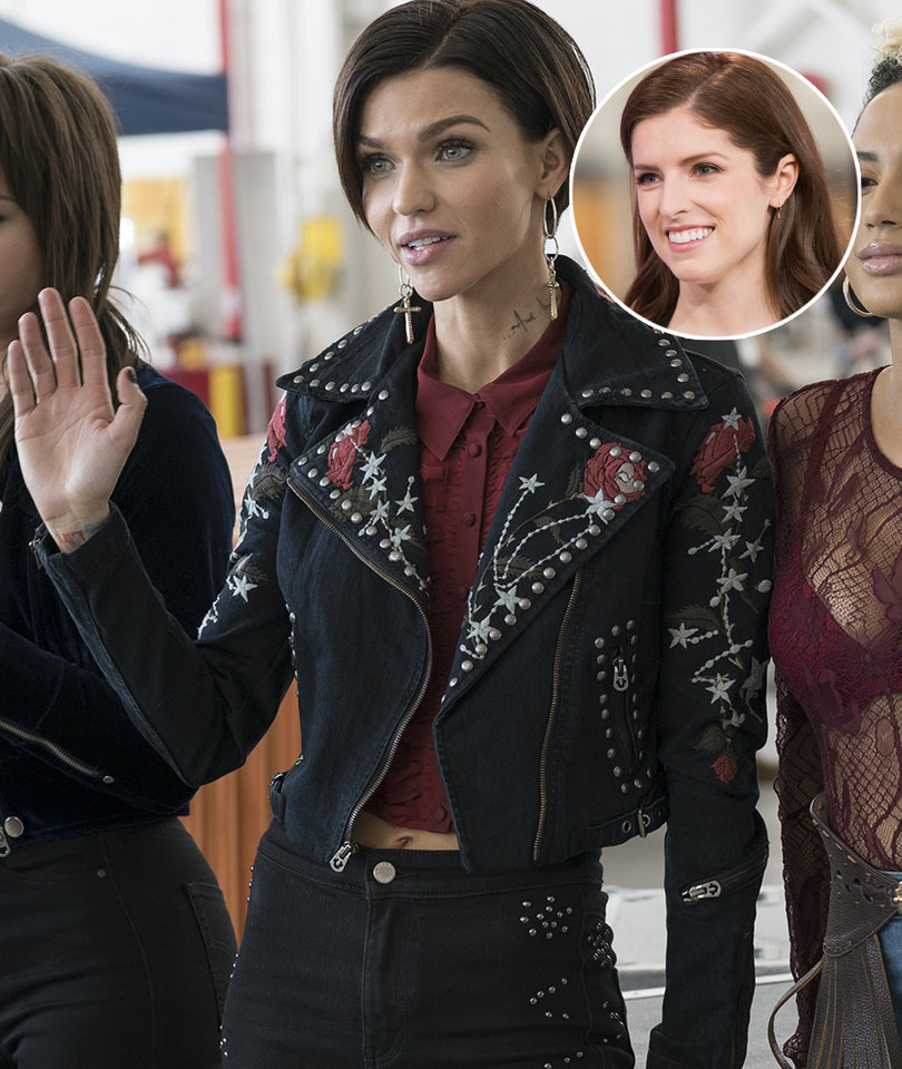 How Anna Kendrick Made Ruby Rose Self Conscious About 'Fat Fingers'