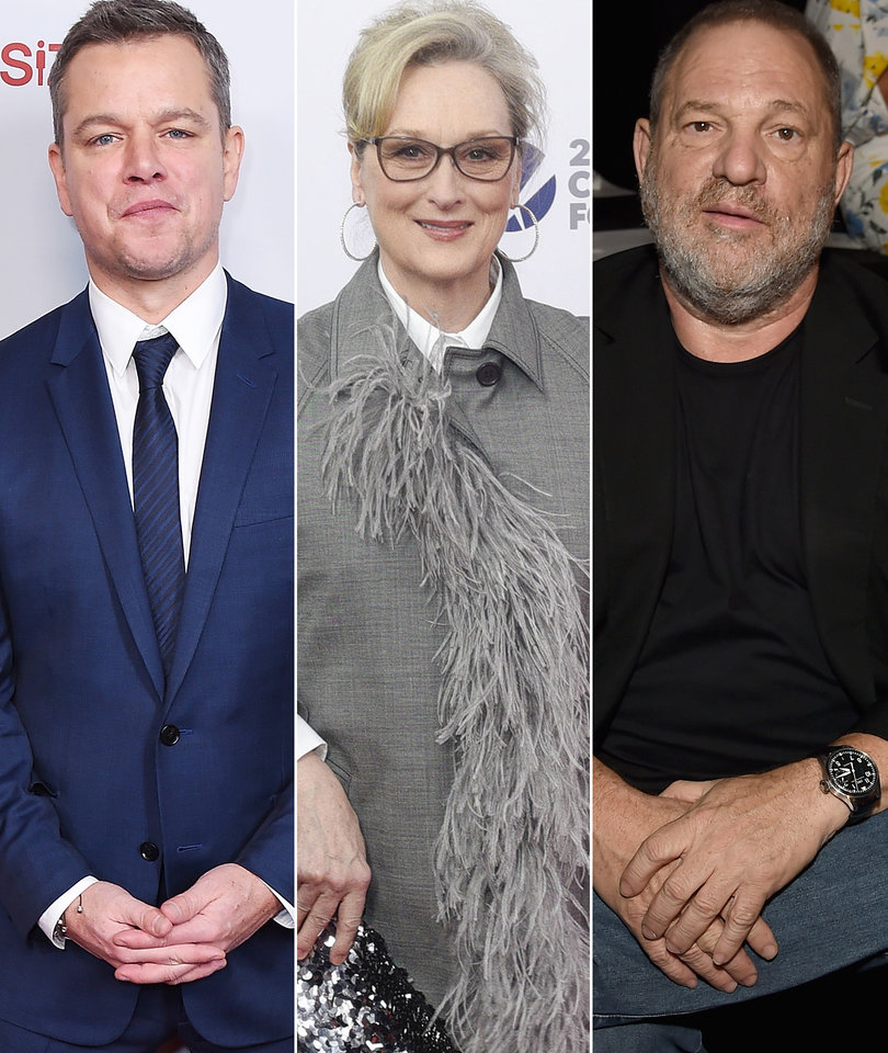 Meryl Streep #SheKnew Posters, Another Weinstein Accuser