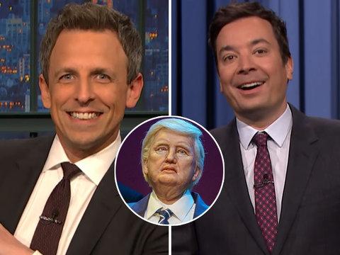 Late-Night Stars Rip Robo-Trump Apart