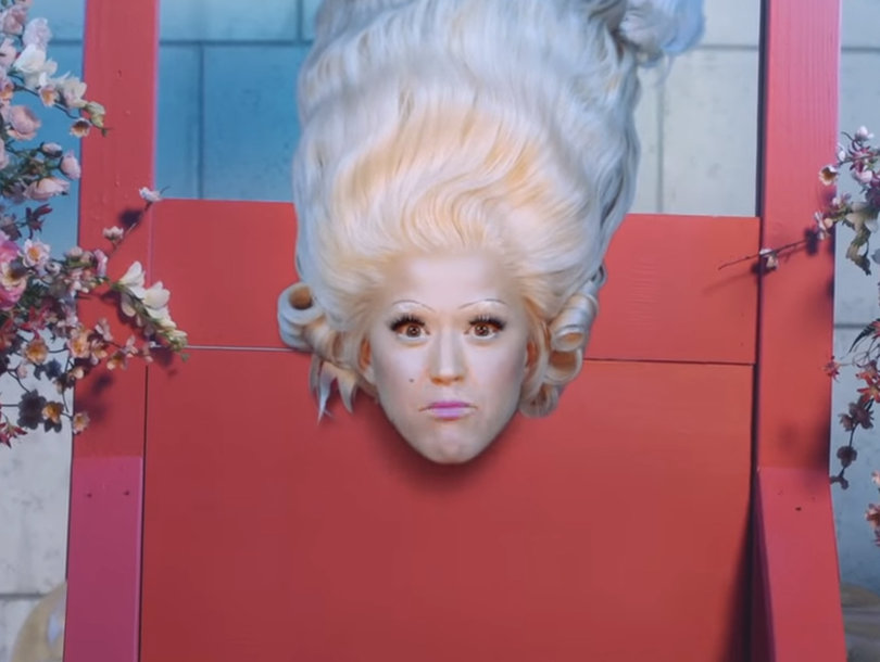 'Hey Hey Hey,' Katy Perry Gets Decapitated in Extravagant New Music Video