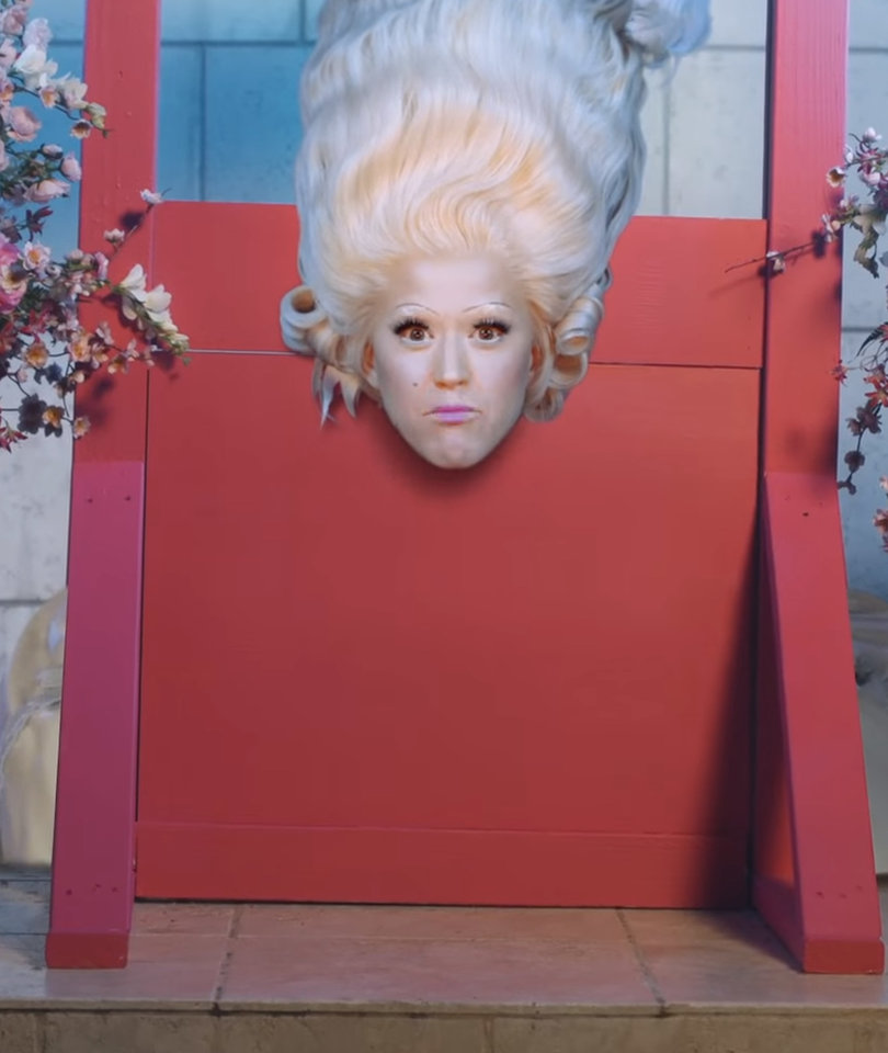 'Hey Hey Hey,' Katy Perry Gets Decapitated in New Music Video