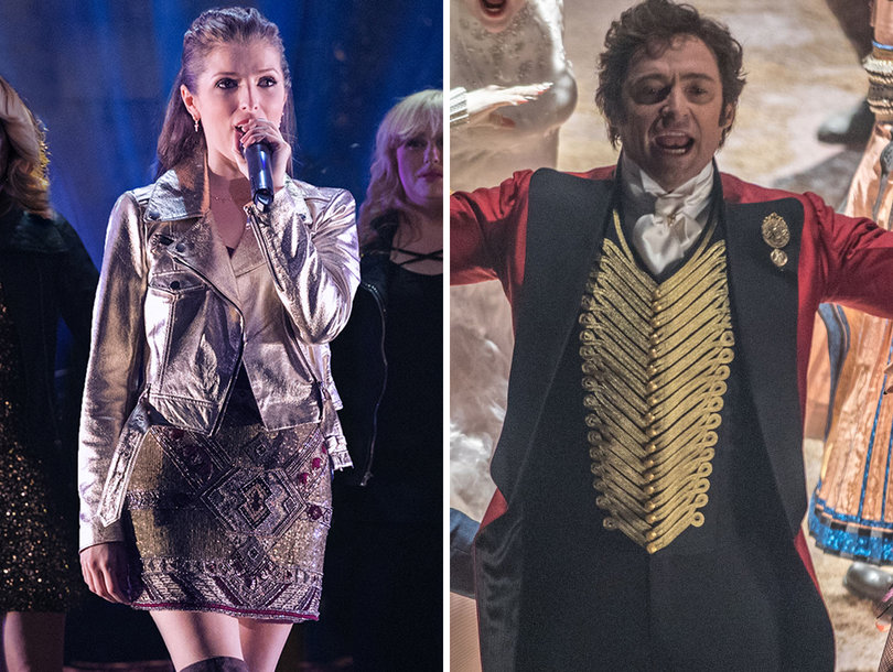 Critics Splatter 'The Greatest Showman' and 'Pitch Perfect 3' With Bad Reviews