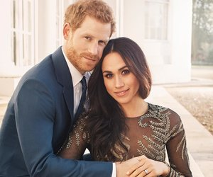 Prince Harry and Meghan Markle's Official Engagement Photos Released