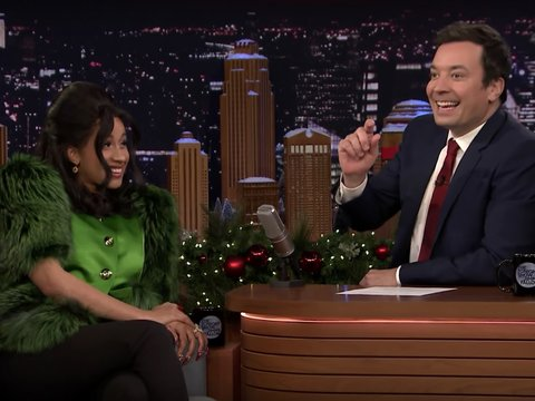 Jimmy Fallon Can't Handle Cardi B on 'The Tonight Show'