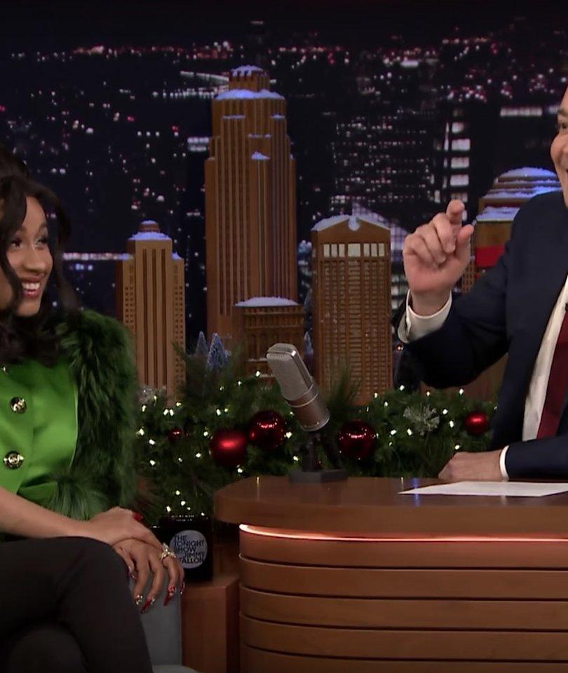 Jimmy Fallon Can't Handle Cardi B on 'The Tonight Show'