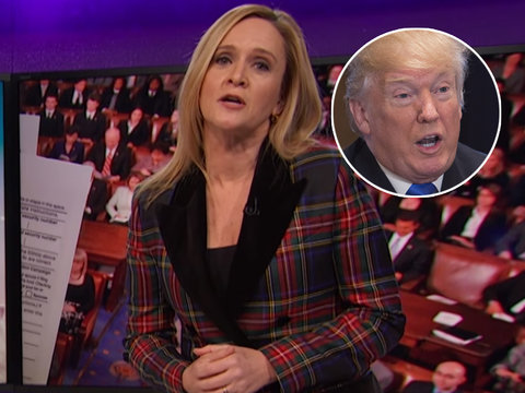 Samantha Bee Lays Into Fox News for 'Crazy Conspiracy Theories'