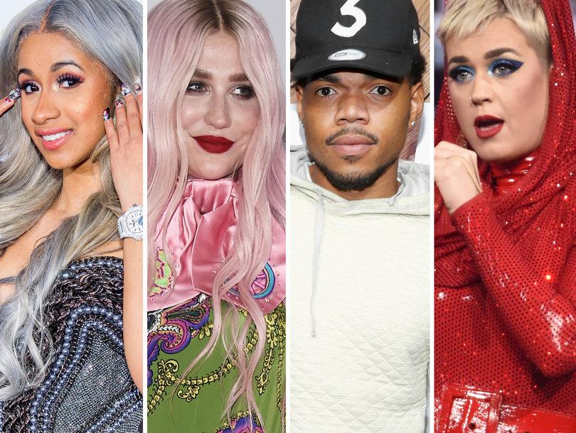 8 Songs You Gotta Hear on #NewMusicFriday: Cardi B, Kesha, Chance the Rapper, Katy Perry