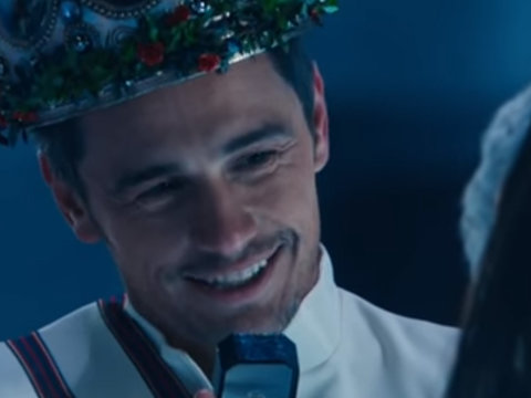 James Franco and 'SNL' Put Hallmark Christmas Movies on Blast