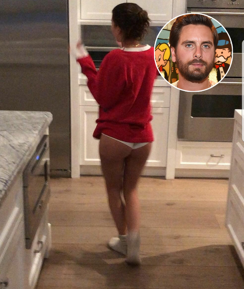 Fans Cringe at Scott Disick Sharing Underwear Video of Sofia Richie