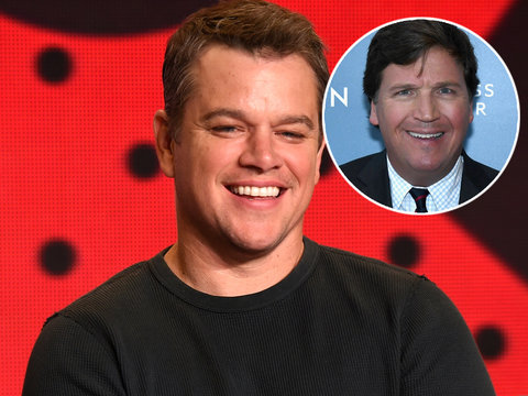 Matt Damon Gets Unexpected Defense From Fox News' Tucker Carlson