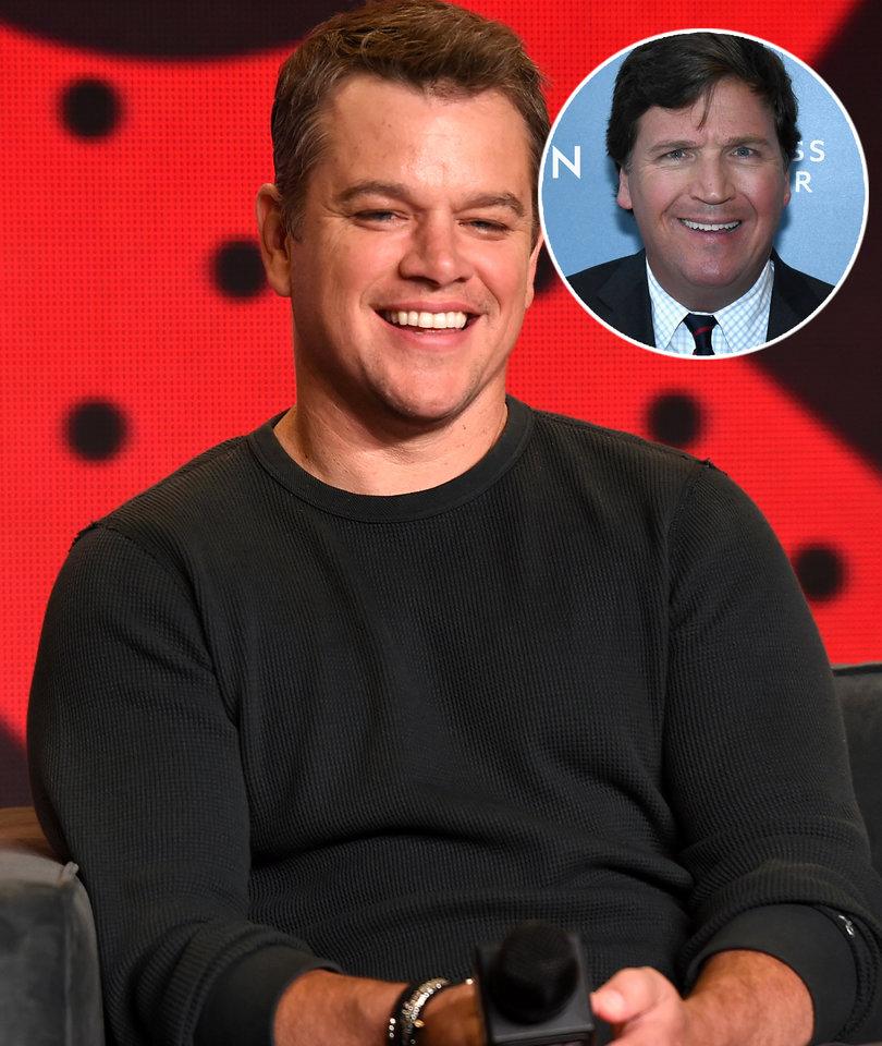 Matt Damon Gets Unexpected Defense From Fox News' Tucker Carlson