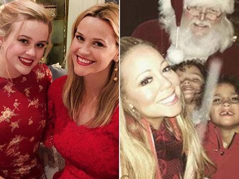 How Hollywood Celebrated Christmas 2017