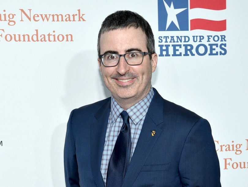 Why John Oliver Felt 'Sad' After Grilling Dustin Hoffman on Allegations