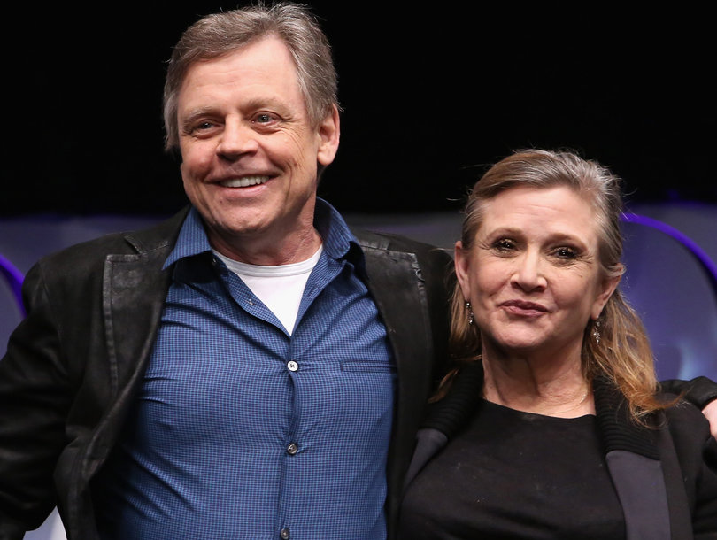 Mark Hamill Pays Tribute to Carrie Fisher After Recanting 'Star Wars: The Last Jedi' Criticism