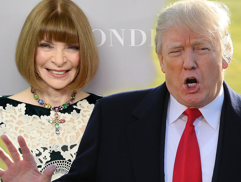 Trump's Attack on Anna Wintour Steers Backlash Away From Vanity Fair