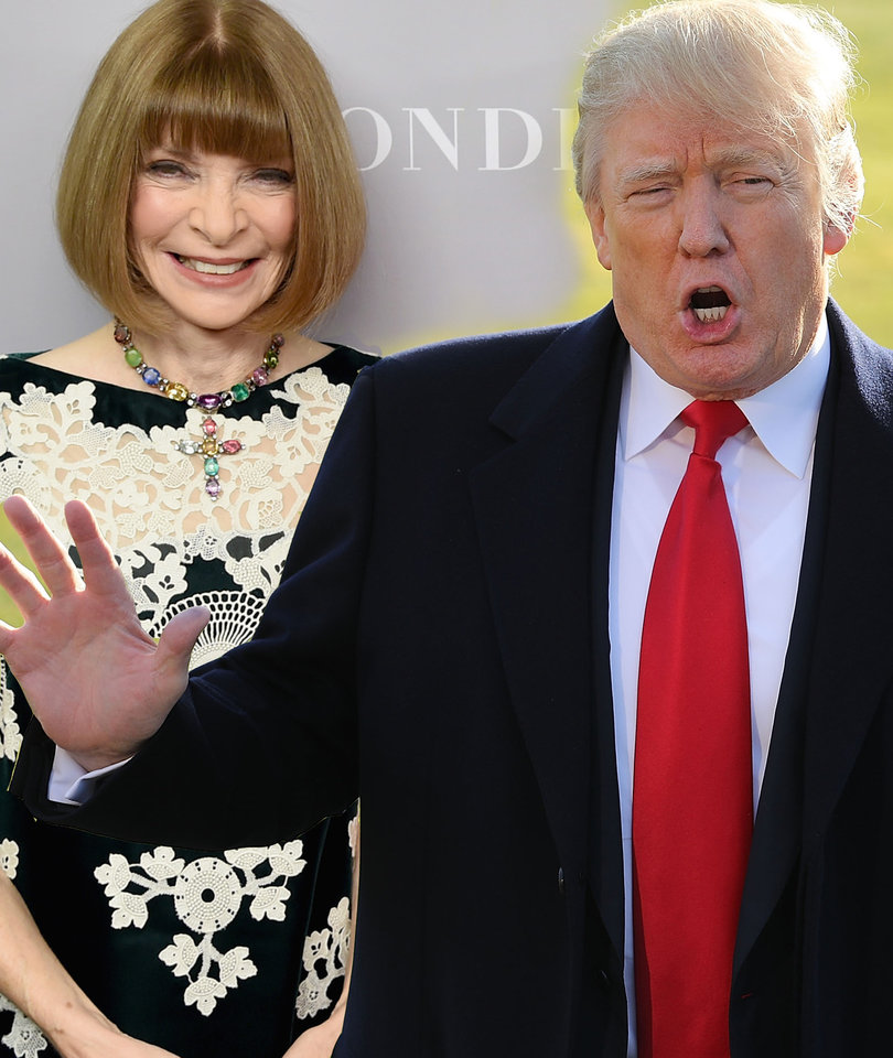 Trump's Anna Wintour Attack Turns Tide of Vanity Fair Backlash