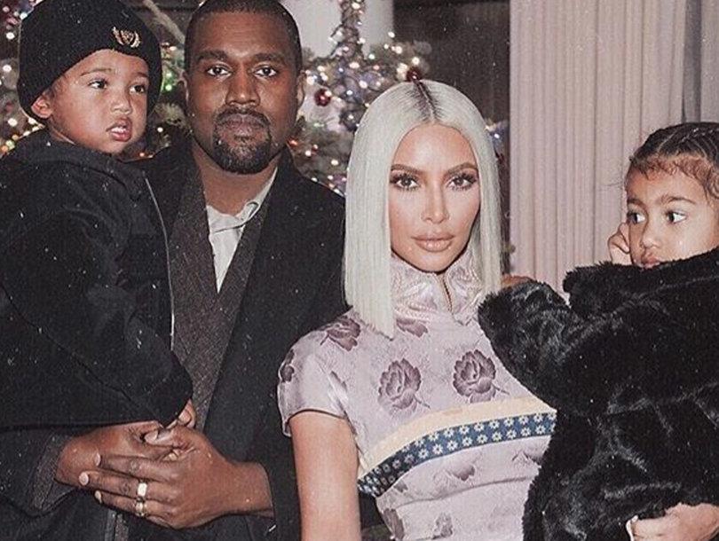 Kim Kardashian Wishes Fans a 'Happy Holiday' with New Family Photo