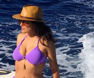 Salma Hayek's Bikini Bod Is #Goals