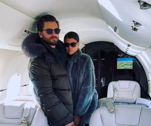 Scott Disick Jet Sets Into 2018 with Sofia Richie