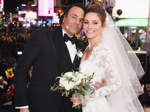 Maria Menounos Gets Married on Fox's New Year's Eve Special