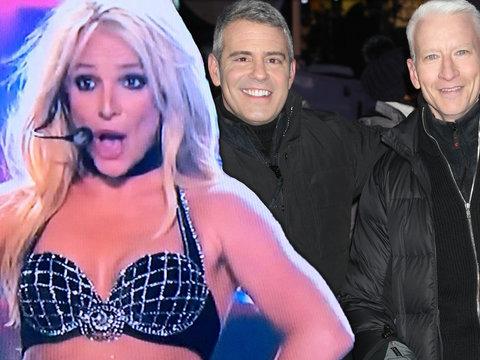 7 Viral NYE Moments: Britney, Andy & Anderson, Mariah's Tea