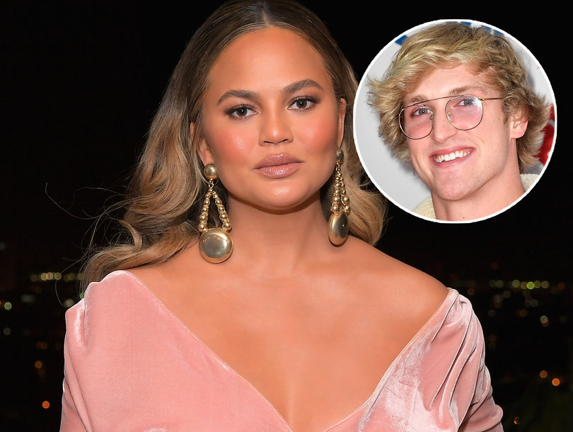 Now Chrissy Teigen Is Under Fire for Her Complicated Thoughts on Logan Paul