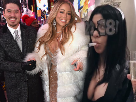 How Hollywood Celebrated New Year's Eve 2018
