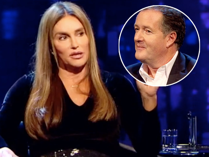 Caitlyn Jenner Snaps at Piers Morgan for 'Disrespectful' Comment About Her 'Physique'