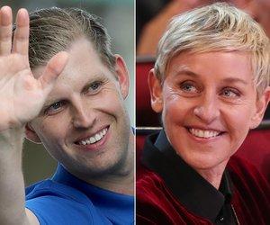 Twitter LOLs at Eric Trump's Ellen DeGeneres Conspiracy Theory
