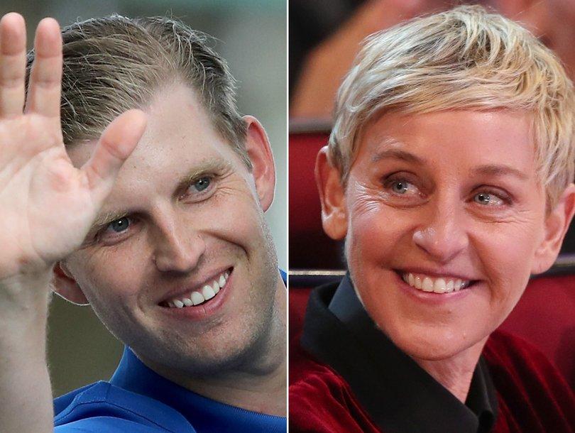 Eric Trump's 'Deep State' Ellen DeGeneres Conspiracy Theory Cracks Up Twitter