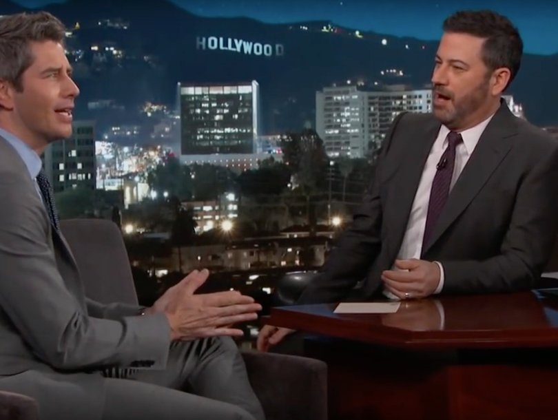 Jimmy Kimmel Squeezes Potential 'Bachelor' Spoiler Out of Arie Luyendyk Jr.