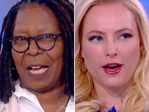 'The View' on Trump's N. Korea Tweets: 'He Is Just Going to Kill All of Us'