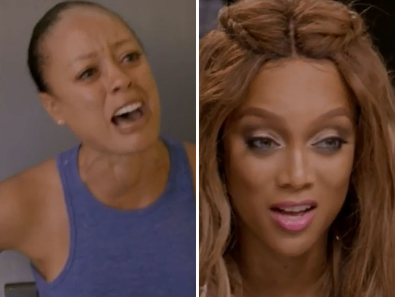'America's Next Top Model' Meltdown: Tyra Banks Drops Bombshell on Oldest Model in Competition History