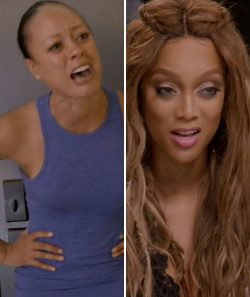 Tyra Drops Bombshell on Oldest Model in Competition History