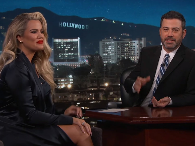 Everything Khloe Kardashian Revealed About Her Pregnancy on 'Jimmy Kimmel Live'