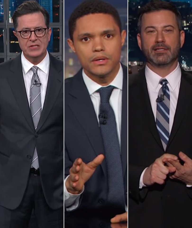 Michael Wolff's Trump Tell-All Blows Up Late-Night TV
