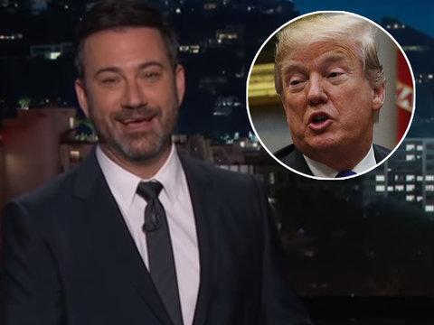 Jimmy Kimmel LOLs at Trump Lashing Out at 'Sloppy Steve' Bannon