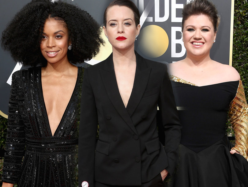 Hollywood Stars Share #WhyWeWearBlack at the Golden Globes
