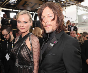 Diane Kruger and Norman Reedus Make It Red Carpet Official at the Globes