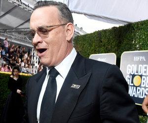 Tom Hanks Takes Full Advantage of Golden Globes Open Bar