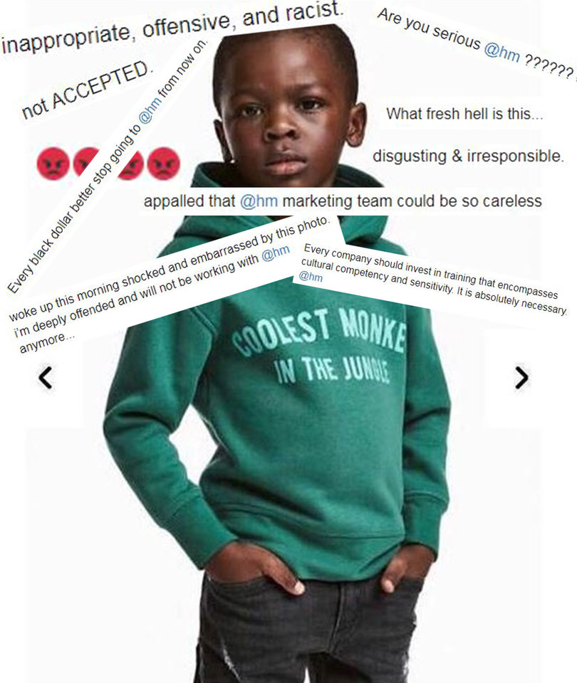 H&M's Racist 'Monkey' Ad Sets Twitter on Fire