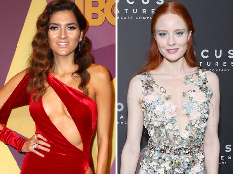 Why These Women Didn't Wear Black to the Golden Globes