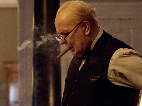 What 'Amazed' Gary Oldman About Winston Churchill