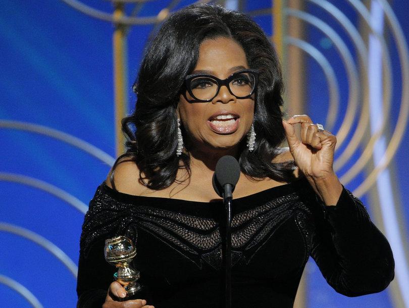 Oprah Winfrey's Golden Globes Speech Proves to Twitter She Really Could Be President