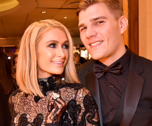 Paris Hilton Flaunts Huge Engagement Ring at Golden Globes After Party